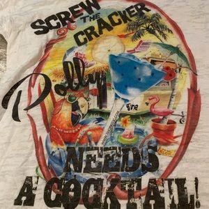 Tops - NWOT Gina's Dolly T-shirt sz L